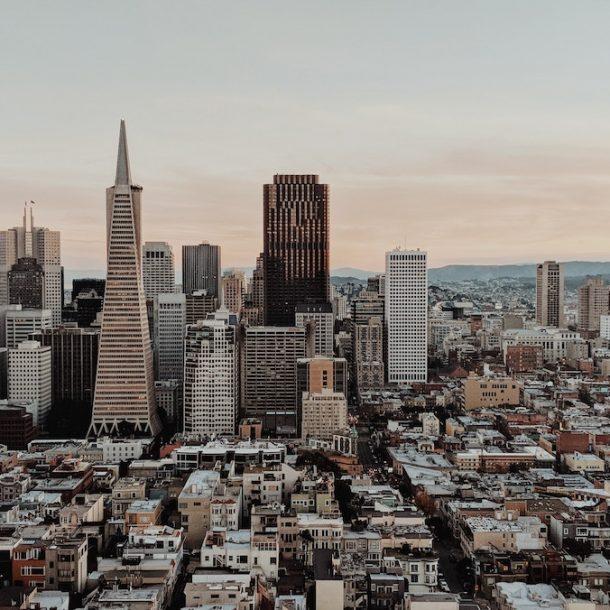 Skyline view of San Francisco