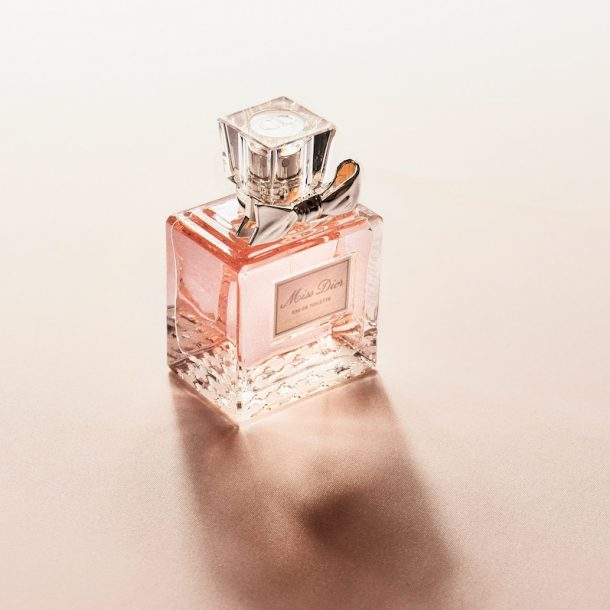 Miss Dior bottle of perfume