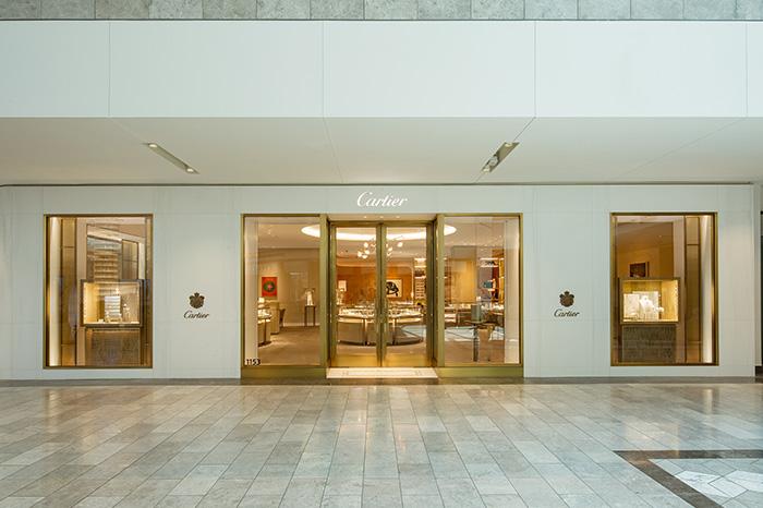 Exterior entrance at Cartier Scottsdale