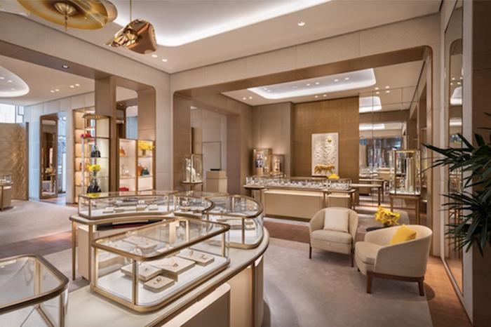 Cartier Hudson Yards interior