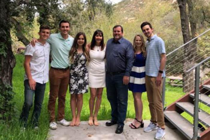 Thomas McCollom and family