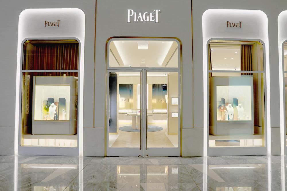 Piaget Hudson Yards exterior entrance