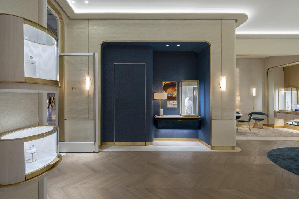 Piaget interior at Hudson Yards