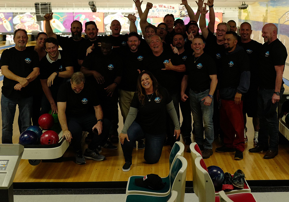 DCC team outing to bowling alley