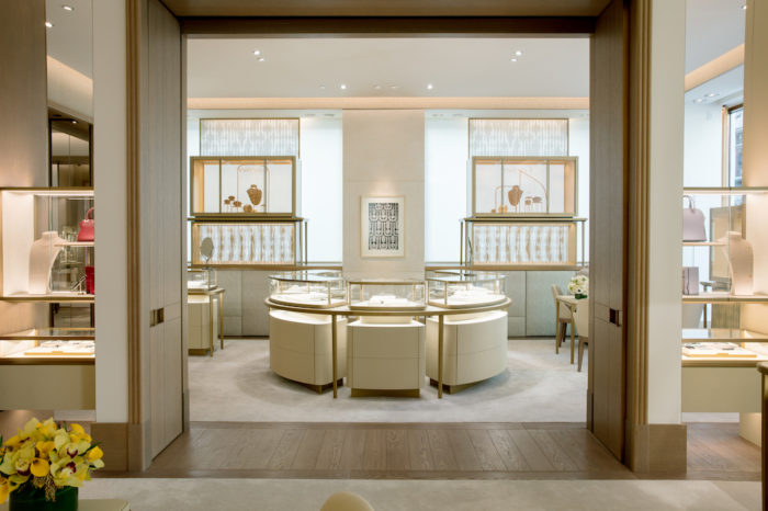 Cartier San Francisco main displays