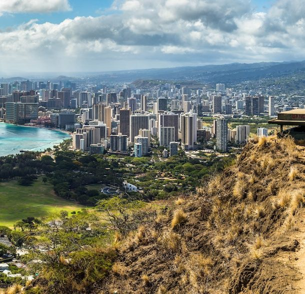 Photo of Honolulu and Waikiki Beach