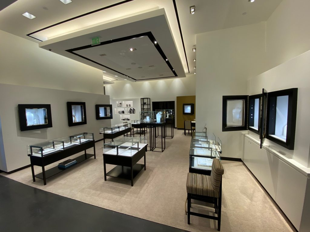 Interior of Chanel store located at Wilshire Blvd., Beverly Hills, CA.