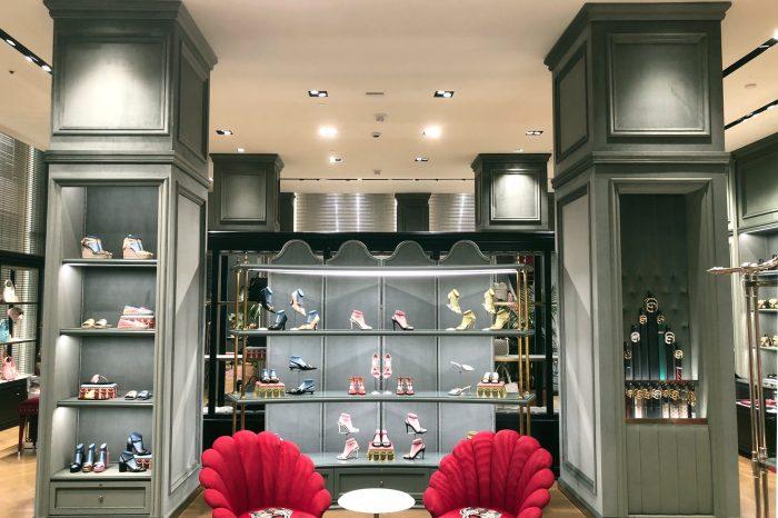 Interior view of Gucci San Francisco Store