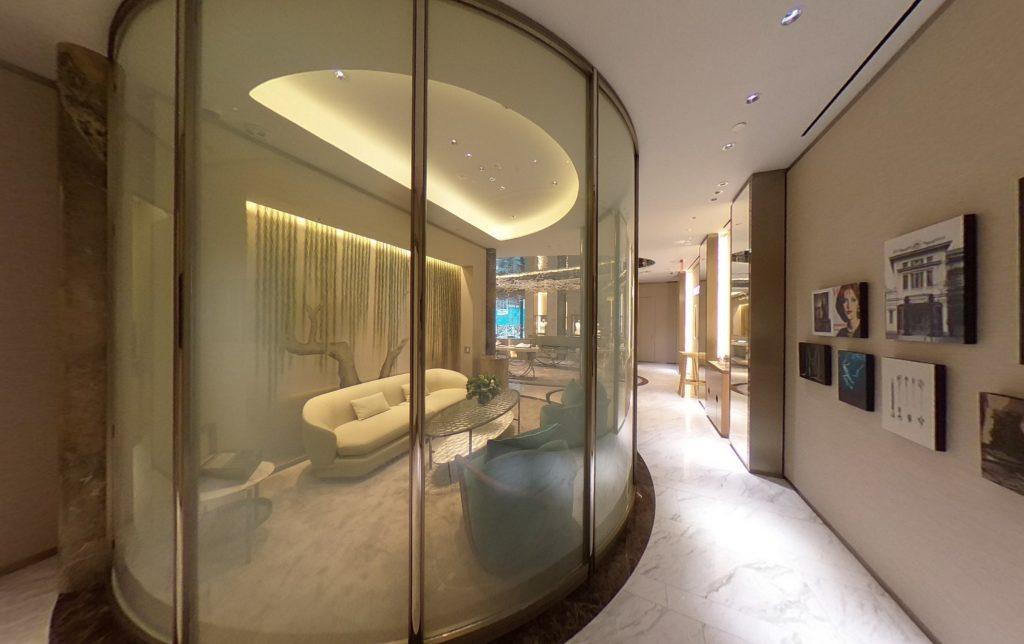 Mikimoto NYC Flagship VIP room