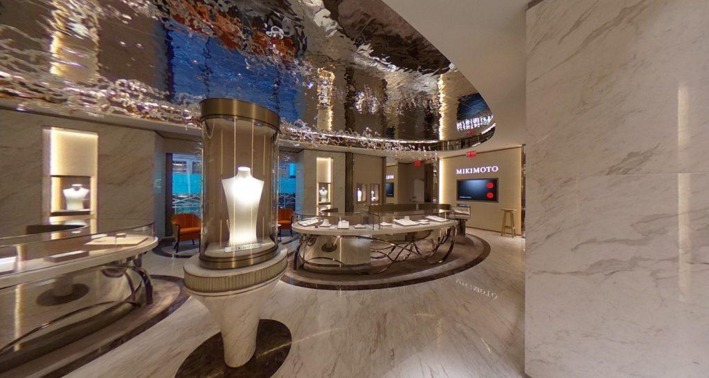 Mikimoto NYC Flagship Sales Area