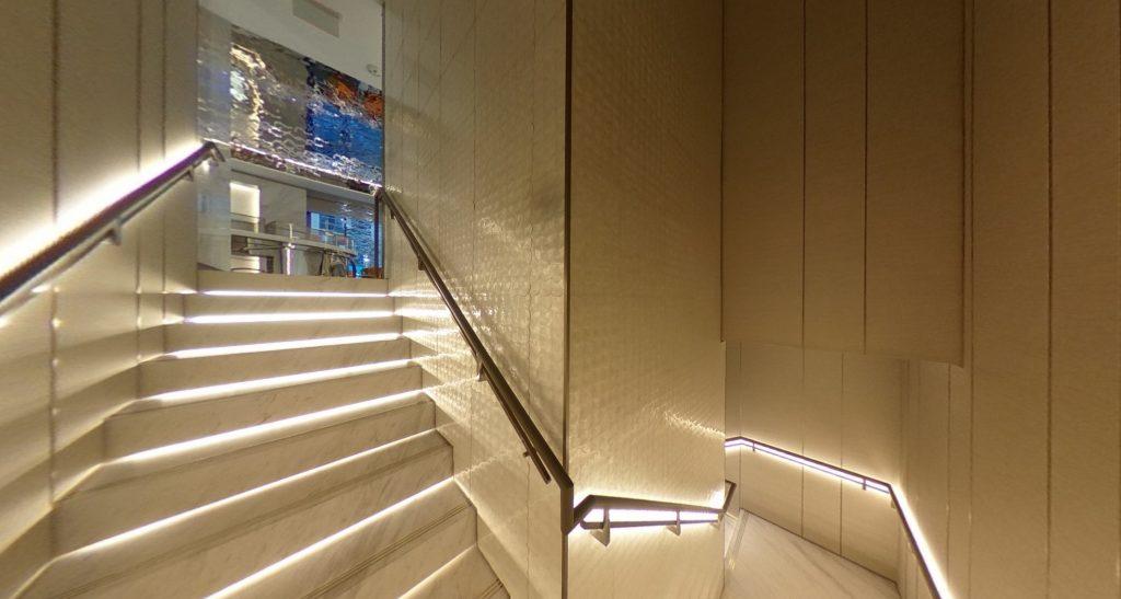 Mikimoto NYC Flagship Staircase