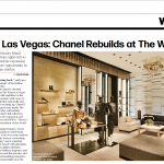 Chanel Las Vegas as seen in WWD Magazine